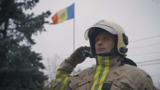 Самый известный в Молдове пожарный уволился после 15 лет работы