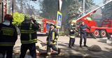 Директор филармонии о пожаре: В пристройке проводилась сварка трубы