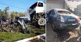В Липканах большегруз протаранил несколько авто: есть пострадавшие
