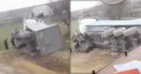 На въезде в Комрат произошло ДТП: Перевернулся грузовик