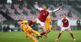 Молдова проиграла Дании 0:8, потерпев крупнейшее поражение в истории