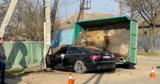 В Вулканештах произошло ДТП: столкнулись грузовик и легковой автомобиль