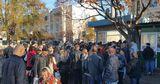 Огромные очереди выстроились в Бельцах за проездными билетами