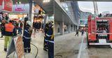 В аэропорту Бухареста произошел пожар