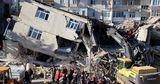 В Турции произошло мощное землетрясение: многие здания разрушены