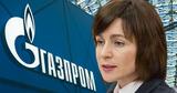 Майя Санду назвала «нечестным» долг перед «Газпромом»