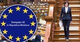 Делегация ЕС в Молдове отреагировала на отставку правительства Санду