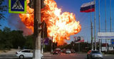На севере Волгограда прогремели три взрыва: пожар на заправке