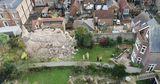 В Англии на дом обрушилась стена средневекового замка