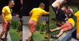 В Каушанах нетрезвого полицейского нокаутировали с одного удара