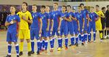 Сборная Молдовы по футзалу потерпела разгромное поражение от Франции