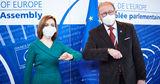 Майя Санду встретилась в Страсбурге с президентом ПАСЕ Хендриком Дамсом