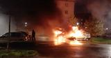 Во французском Страсбурге в новогоднюю ночь сожгли десятки автомобилей