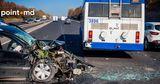 В Ставченах произошло ДТП с участием троллейбуса