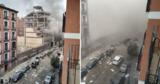 В Мадриде произошел мощный взрыв: есть пострадавшие