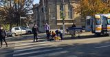 В столице автомобиль сбил женщину на пешеходном переходе