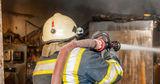 В столице произошел пожар в магазине на улице Албишоара