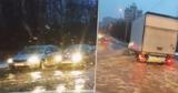 В Кишиневе затопило улицу, которая рискует превратиться в каток