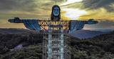 В Бразилии строят новую 43-метровую статую Иисуса Христа