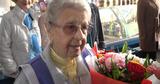 Торгующей медом на бельцком рынке долгожительнице исполнилось 93 года