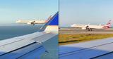 В США два пассажирских самолета устроили гонку во время посадки