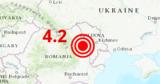 В Румынии ночью произошло землетрясение магнитудой 4,2