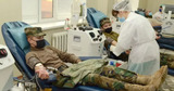 Военные Национальной армии присоединились к кампании по донорству крови