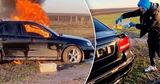 Молдаванин поджег свою машину, чтобы стать популярным в интернете