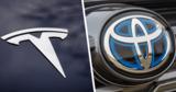 Toyota и Tesla выпустят компактный кроссовер