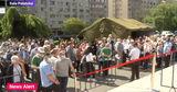 Марафон вакцинации в Бухаресте собрал очереди из желающих привиться