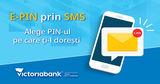 Victoriabank: Выберите предпочтительный PIN-код бесплатно ®