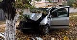 ДТП в Слободзее: водитель потерял сознание и врезался в дерево