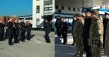 Молдавские пограничники приветствовали колядками своих коллег из Украины