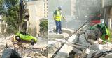 Демонтаж ресторана в Кишиневе едва не обернулся человеческими жертвами