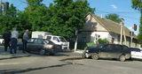На перекрестке в Комрате столкнулись два автомобиля