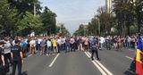 Ветераны заблокировали движение на проспекте Штефана чел Маре