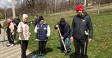 В Хынчештах в разгар пандемии власти провели акцию по посадке деревьев