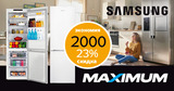 Maximum: Скидки до 23% на холодильники Samsung Ⓟ