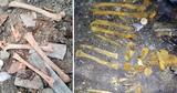 Жительница села Секарены Хынчештского района нашла человеческие кости