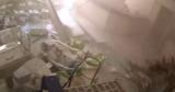 Кадры взрыва в Бейруте показали в новом видео
