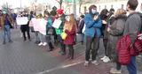 В Кишиневе прошел митинг в поддержку Навального