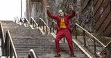 Житель Нью-Йорка заснял танцующего Хоакина Феникса в роли Джокера