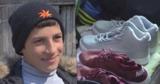 Жизнь мальчика, который пробежал 12 км в резиновых галошах, изменилась