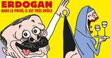 Турция отреагировала на обложку Charlie Hebdo с Эрдоганом