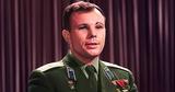 Опубликовано цветное видеопоздравление Гагарина с годовщиной полёта