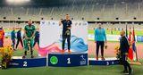 Молдавский копьеметатель завоевал золото на чемпионате Балканских стран