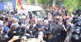 """Оправдан водитель, обвиняемый в """"наезде на кордон полиции""""  на митинге"""