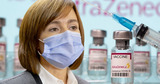 Президент Майя Санду получит завтра первую дозу вакцины AstraZeneca