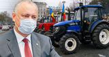Додон: Цены на топливо повысились, а фермеры с тракторами не вышли