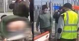 В Джурджулештах протестующий снял штаны перед полицейскими и выругался